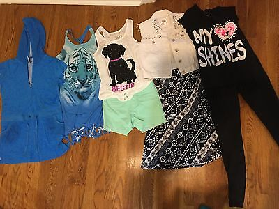 8 Piece Lot Girls Size 12 Justice Clothing