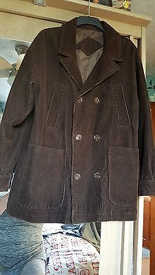 Men's size m Cord' Jacket by Burtons