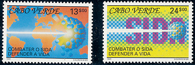 Cabo Verde - 1991 - Fight Against AIDS - MNH / ( ** )
