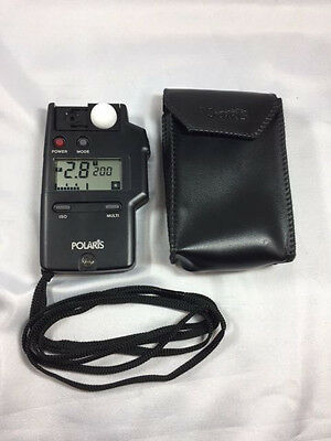 Polaris Flash Meter - Light Meter With Case And Strap***free Usa Shipping***