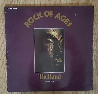 The Band - Rock of Ages double vinyl LP 1972