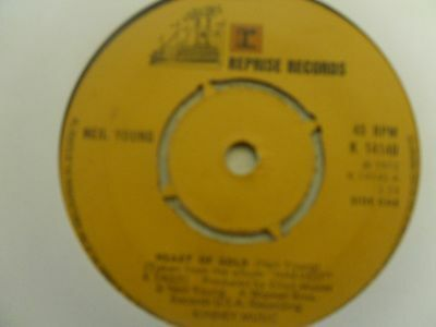 """Neil Young  """"heart Of Gold"""" On The Reprise Label  1972"""