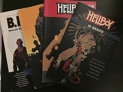 Hellboy Collection (4 Softcover Graphic Novels)
