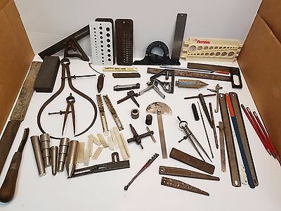 Nice Large Assorted Lot Of Miscellaneous Tools From A Machinist Tool Box