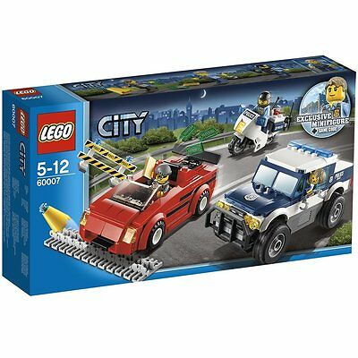 LEGO City Police Chase #60007 Retired 2013 - NEW IN BOX.