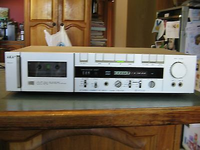 Retro Akai Cs-F21 Tape Stereo Cassette Deck Working Order