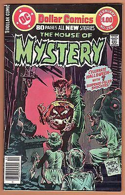 HOUSE OF MYSTERY #256 DC Comics Horror 1978 Berni Wrightson VF- 7.5  HUGE SCANS