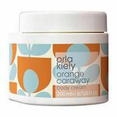 Orla Kiely Orange Caraway Body Cream 200Ml
