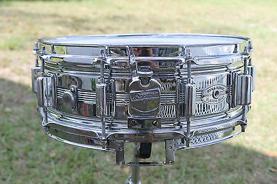 """Vintage early 70's Rogers Dynasonic C.O.B. 5""""x14""""  snare drum"""