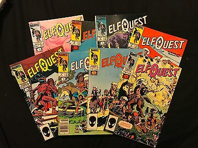 Elf Quest 1ST PRINT NM VF #1 2 3 4 5 6 7 8 Wendy Richard Pini Marvel Epic Marvel