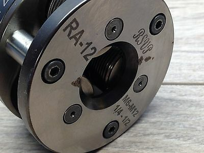 "Nice Rsvp Ra1 1/4 - 3/8"" Fette Axial Thread Rolling / Roller Head 3/4"" Shank"