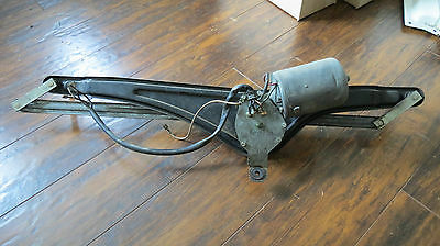 VW Type 2 Bay Window Camper Bus Windshield Wiper Motor and Assembly OEM 1973