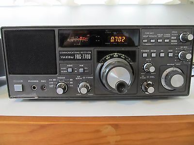 Yaesu FRG-7700 General Coverage Communications Receiver. Solid State.