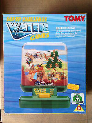 Water Games Tomy Rough Rider Rally Vintage Toy New!!!