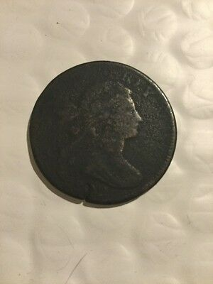 1802 Draped Bust Large Cent Penny Circulated