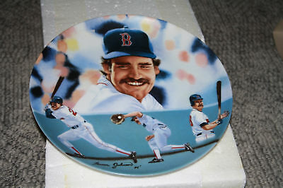 """Sports Impressions 10.5"""" Plate #517 Wade Boggs"""