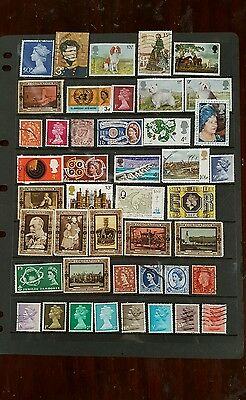 stamps  great britain   mh & used - lot 4