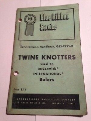 Vintage Blue Ribbon Service TWINE KNOTTERS
