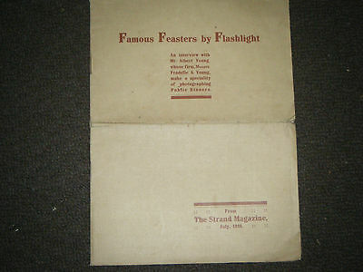 107 year old Photography Guide - July 1910- Strand magazine production, original