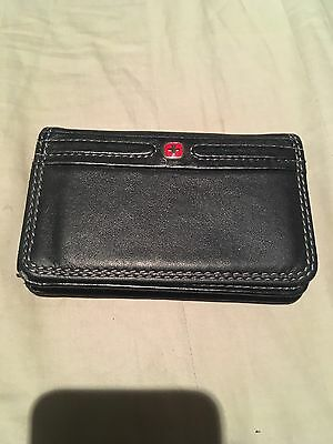 """Wenger • Swiss Army Knife """"Diplomat"""" Credit / Business Card Case Holder Wallet"""