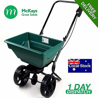 Fertiliser Spreader Seed Spreader Push Spreader Rotary Hand Spreader 25 Liters