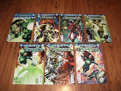 DC Rebirth Green Lanterns Rebirth + Issues 1 - 6 (First Story Arc)