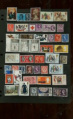 stamps  great britain   mh & used - lot 11