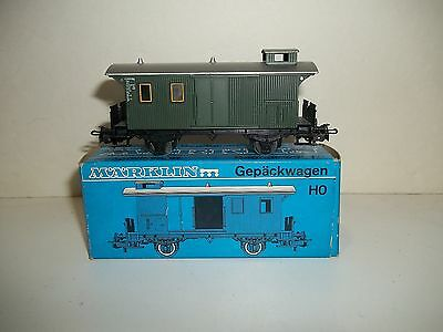 Marklin 4008 GEPACKWAGEN Car in the original box HO scale
