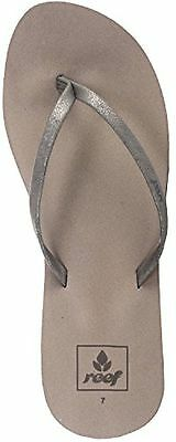 66992b2d0259 Women Reef Bliss Nights RF0A2U1J Pewter Flip Flop Sandal 100% Original With  tags