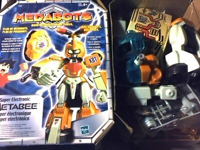 2002 Hasbro Super Electronic Metabee Robotic Build Your Own Robot Toy Figure-Use