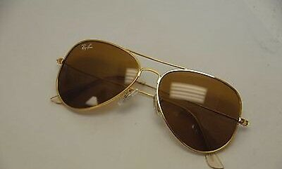 Ray ban Aviator Gold Brown rb3025 62 mm