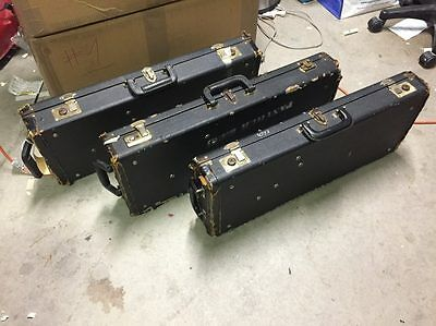Lot of 3 Used Fox Bassoon Cases