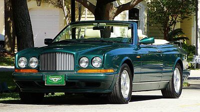 1997 Bentley Azure FACTORY LEATHER 1997 BENTLEY AZURE ULTRA PREMIUM LUXURY CONVERTIBLE ONE FAMILY OWNED 16,000 MILE