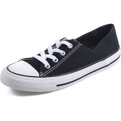 1dd45ce4d2cfe7 Converse Chuck Taylor All Star Coral Ox Black White Women s Fashion Shoes  New