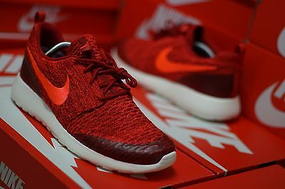 """ToP! NIKE ROSHE ONE FLYKNIT """"GYM RED"""" Gr.43 LIMITED EDITION*NEU*free*air*max*"""