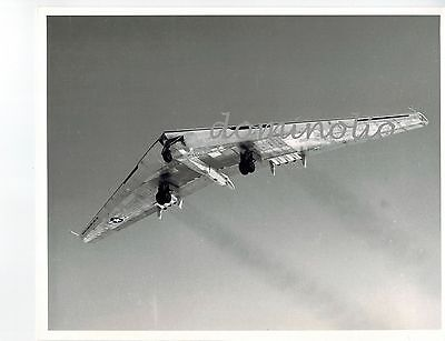 NORTHROP YB-49 FLYING WING Bomber Vintage Photo Northrop Public relations USAF