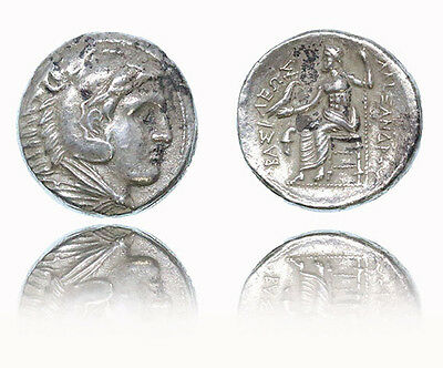 Kingdom of Macedon. Alexander III 'the Great' AR Tetradrachm