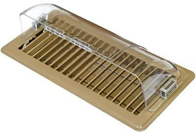 Air Deflector for Ducted Heating Floor Vent or Register