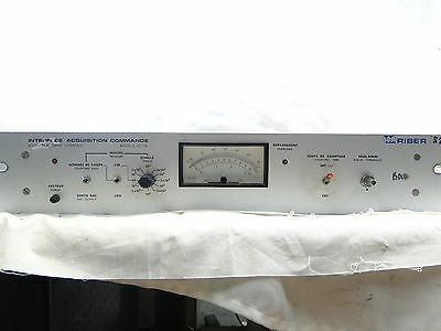 Riber Acquisition Drive Interface Cd 116