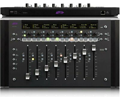 Avid Artist Mix Ethernet Control Surface EUCON works w/ Pro Tools Recording