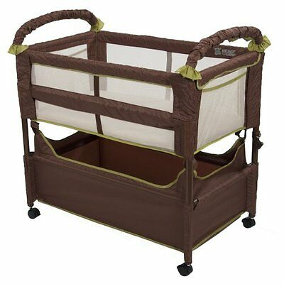 Home Kitchen Features Arms Reach Concepts Clear-Vue Co-Sleeper, Cocoa/Fern