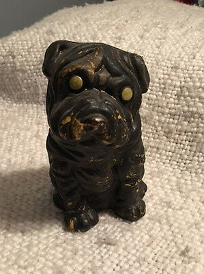 Shar-Pei Sharpay Dog Toy Bank Vintage 60's Animal Show Veterinarian Kennel Nr