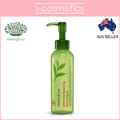 [INNISFREE] Green Tea Balancing Cleansing Oil 150ml Makeup Remover