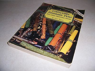 Collectible Fountain Pens ads and Identification book Author Glen Bowen
