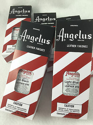 Angelus Leather Dye change the colour of your leather shoes, boots & hand bags