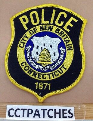 City Of New Britain, Connecticut Police Shoulder Patch Ct