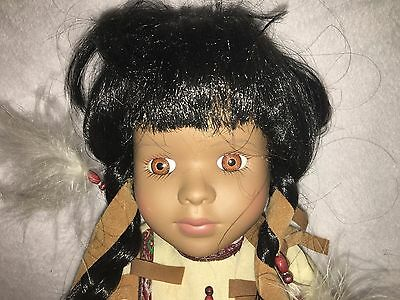 "Aiyana Haunted ""looking"" Doll from Lost Colony of Roanoke"