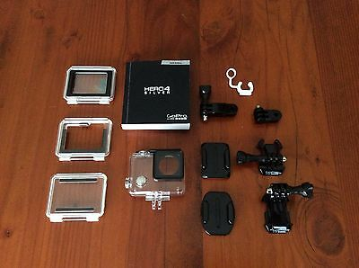 Gopro Hero 4 Silver Accessories