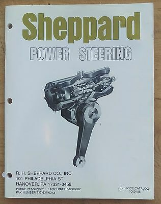 1980s Sheppard Power Steering Workshop Service Catalog Manual Suit Mack Trucks
