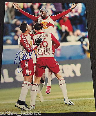New York Red Bulls Bradley Wright Phillips Autographed Signed 11x14 Photo COA